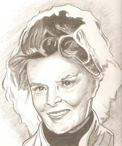 Katharine Hepburn por RobCrandall